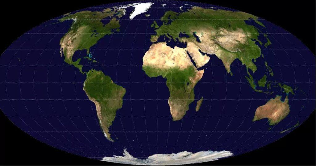 Globe Map Small